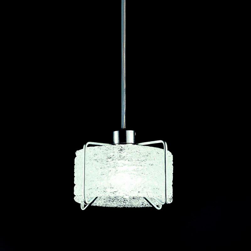 Купить Подвесной светильник Terzani Bobino с плафоном из прозрачного стекла, inmyroom, Италия