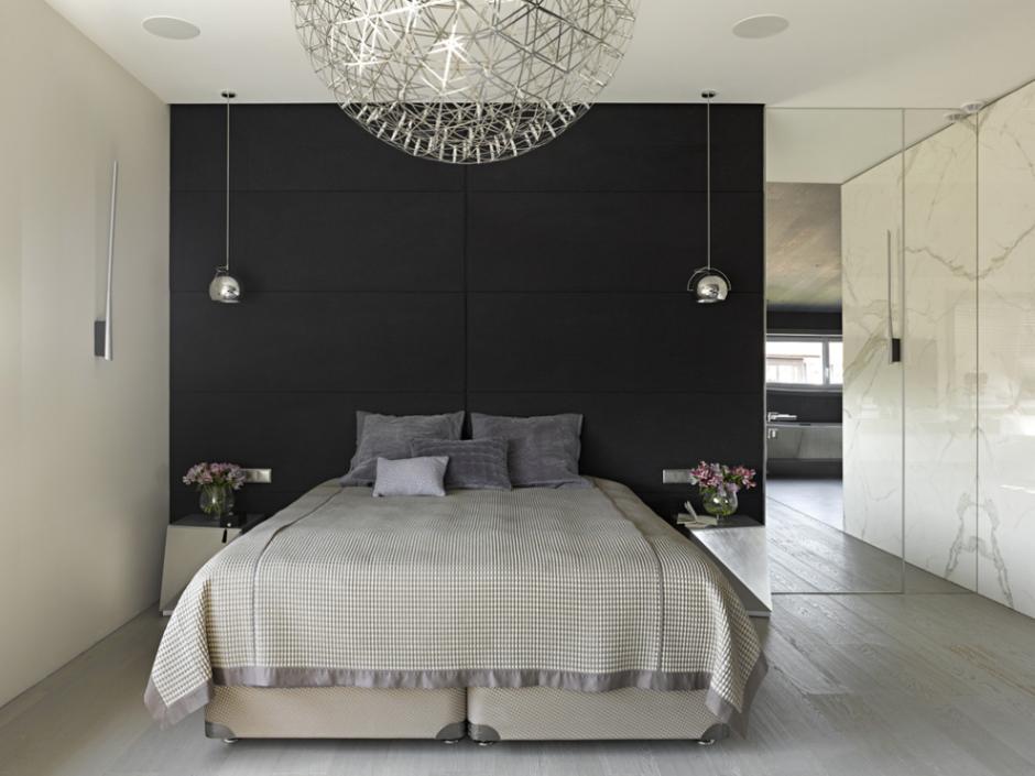 Фотография: Спальня в стиле Современный, Декор интерьера, Квартира, Декор, Советы, Минимализм, минимализм в интерьере, как оформить интерьер в стиле минимализм, минималистский интерьер, стиль в интерьере – фото на InMyRoom.ru