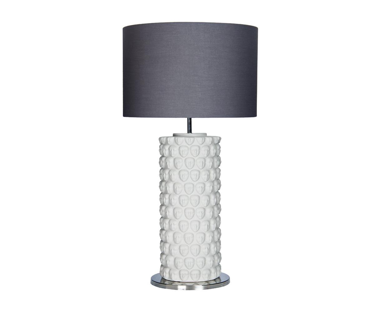 Купить Настольная лампа из керамики серого цвета, inmyroom, Португалия