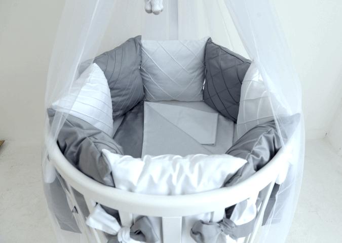 Купить Дизайнерский комплект серая классика из хлопка, inmyroom, Россия