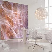 Фотография: Мебель и свет в стиле Минимализм, Декор интерьера, Декор дома, Обои – фото на InMyRoom.ru