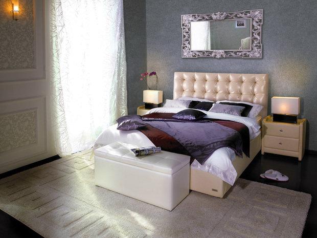 Фотография:  в стиле , Спальня, Современный, Советы, Askona, Аскона, «Аскона» – фото на InMyRoom.ru