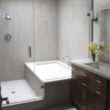Фотография: Ванная в стиле Современный, DIY, Квартира, Переделка, Ремонт на практике, экспресс-ремонт, экспресс-ремонт ванной, экспресс-ремонт санузла, как быстро сделать ремонт в санузле – фото на InMyRoom.ru