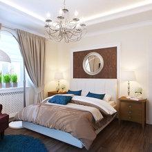 Фотография: Спальня в стиле Классический, Современный, Дом, Цвет в интерьере, Дома и квартиры, Белый, Проект недели – фото на InMyRoom.ru