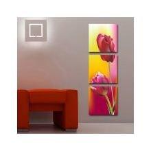 Декоративная картина на холсте: Два тюльпана