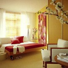 Фотография: Спальня в стиле Современный, Минимализм, Интерьер комнат, Мебель и свет, Переделка – фото на InMyRoom.ru