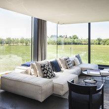 Фото из портфолио Стеклянный дом в Бельгии – фотографии дизайна интерьеров на InMyRoom.ru