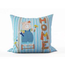 Детская подушка: Наф-наф