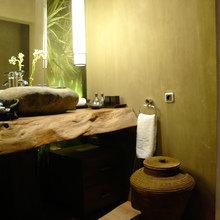 Фотография: Ванная в стиле Кантри, Современный, Эклектика, Интерьер комнат, Teak House, Эко – фото на InMyRoom.ru
