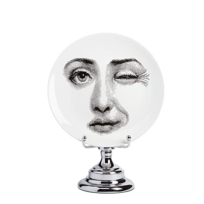 Декоративная тарелка на подставке Пьеро Форназетти Peccato