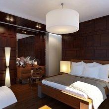 Фото из портфолио Спальня с деревянными панелями – фотографии дизайна интерьеров на InMyRoom.ru