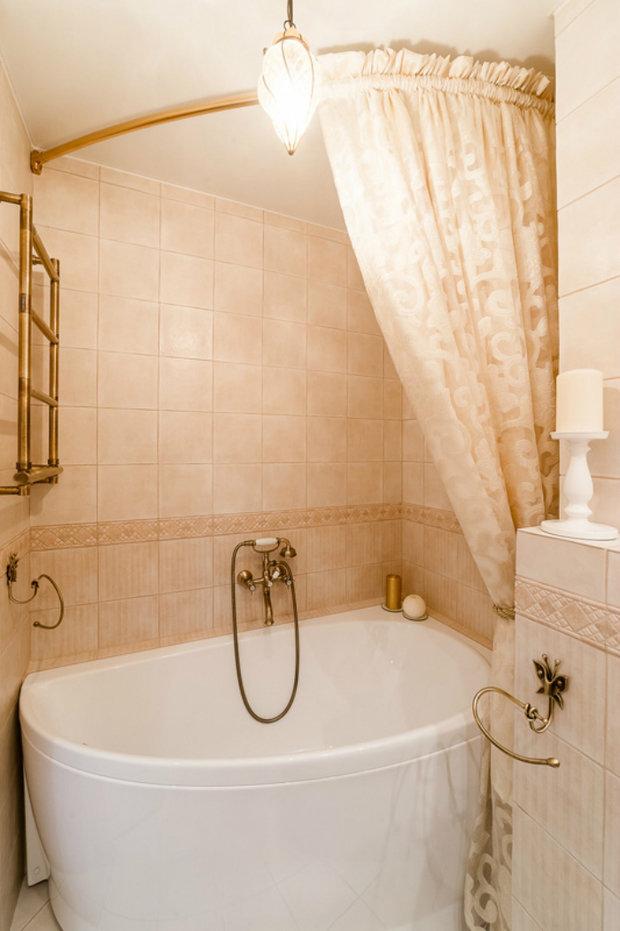 Фотография:  в стиле , Ванная, Советы, Уютная квартира, Наталья Преображенская – фото на InMyRoom.ru