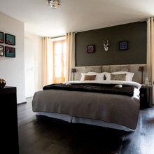 Фотография: Спальня в стиле Восточный, Эклектика, Ванная, Дом, Дома и квартиры, Городские места – фото на InMyRoom.ru