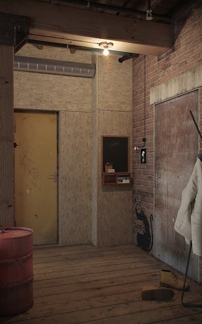 Фотография: Прихожая в стиле Лофт, Квартира, Дома и квартиры, Проект недели – фото на InMyRoom.ru