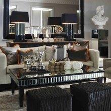 Фотография: Гостиная в стиле Эклектика, Интерьер комнат, Мебель и свет, Диван, Потолок – фото на InMyRoom.ru