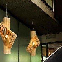 Фото из портфолио Предметы освещения из фанеры – фотографии дизайна интерьеров на INMYROOM