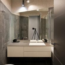 Фотография: Ванная в стиле Современный, Квартира, Минимализм, Проект недели – фото на InMyRoom.ru