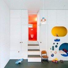 Фотография: Детская в стиле , Интерьер комнат, Цвет в интерьере – фото на InMyRoom.ru