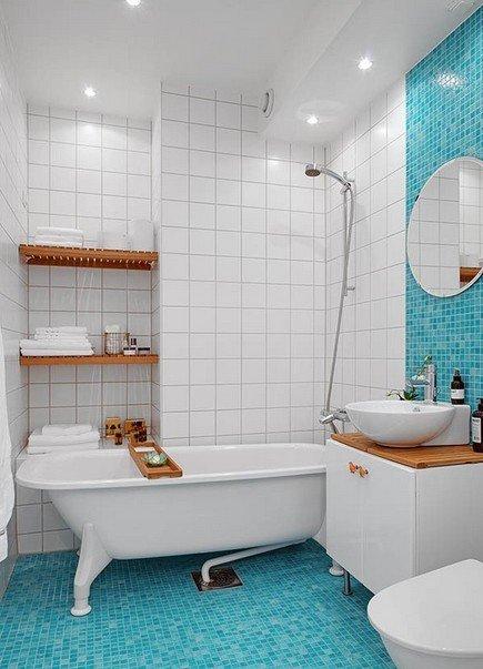 Фотография:  в стиле , Ванная, Советы, как выбрать мебель для ванной – фото на InMyRoom.ru