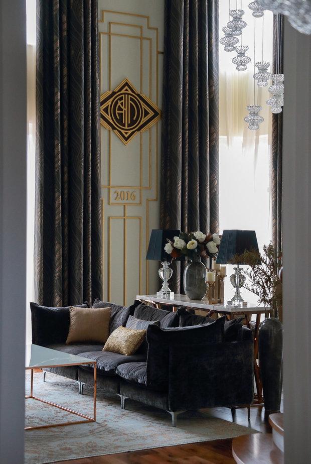 Фотография: Гостиная в стиле Классический, Декор интерьера, Лепнина, Европласт, лепной декор, молдинги – фото на INMYROOM