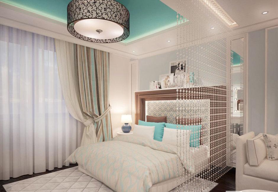Фотография: Спальня в стиле Прованс и Кантри, Эклектика, Классический, Квартира, Проект недели – фото на InMyRoom.ru