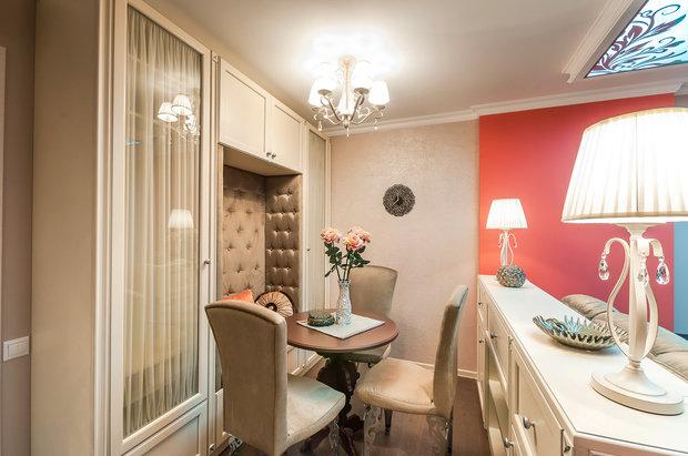 Фотография: Гостиная в стиле Восточный, Эклектика, Интерьер комнат – фото на InMyRoom.ru