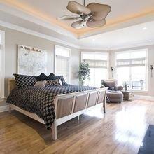 Фотография: Спальня в стиле Современный, Советы, Ремонт, Потолок, Ремонт на практике – фото на InMyRoom.ru