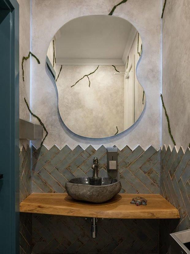 Фото из портфолио Зеркальные проекты – фотографии дизайна интерьеров на INMYROOM
