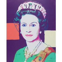 Картина (репродукция, постер): Queen Elizabeth II - Энди Уорхол