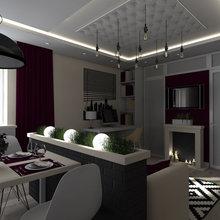Фото из портфолио 2-х комнатная квартира – фотографии дизайна интерьеров на INMYROOM
