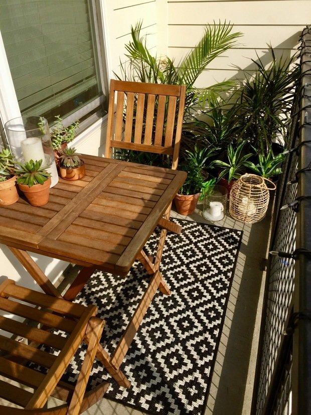 Фотография: Балкон в стиле Скандинавский, Советы, балкон в квартире, Leroy Merlin, балкон летом – фото на INMYROOM