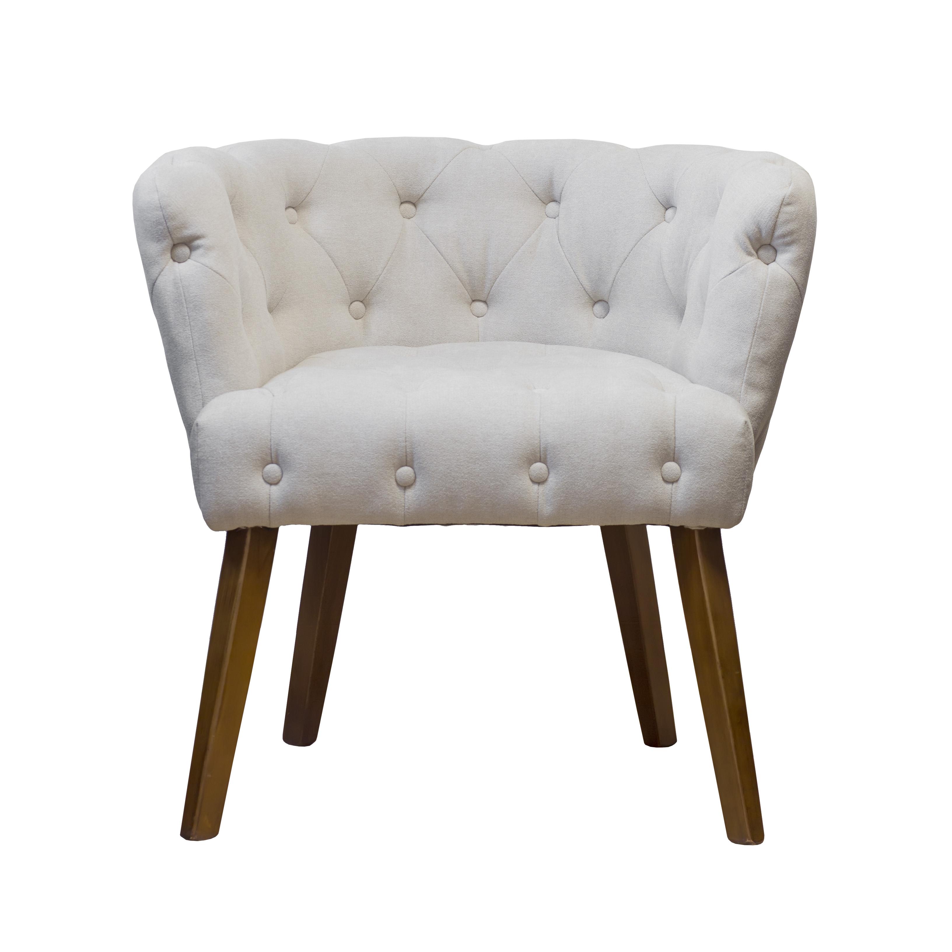 Купить со скидкой Кресло светло-бежевого цвета