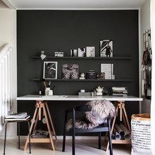Фото из портфолио Комфортный офис дома: дизайн рабочего места – фотографии дизайна интерьеров на InMyRoom.ru