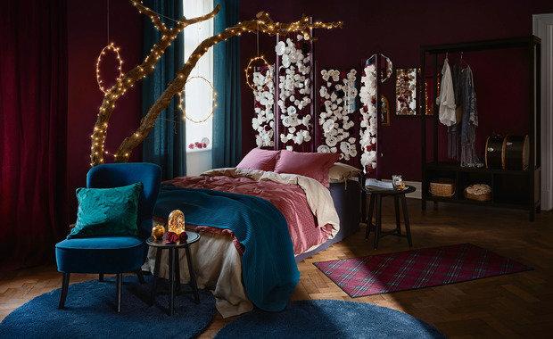 Фотография: Спальня в стиле Восточный, Советы, Новый Год, ИКЕА, подарки, подарки к новому году – фото на INMYROOM