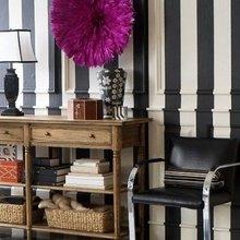 Фотография: Декор в стиле Эклектика, Декор интерьера, Декор дома, Цвет в интерьере, Стены – фото на InMyRoom.ru