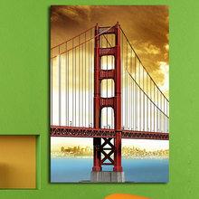 """Дизайнерская картина на холсте """"Мост"""""""