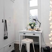 Фотография: Кабинет в стиле Скандинавский, DIY, Малогабаритная квартира, Квартира, Дома и квартиры – фото на InMyRoom.ru