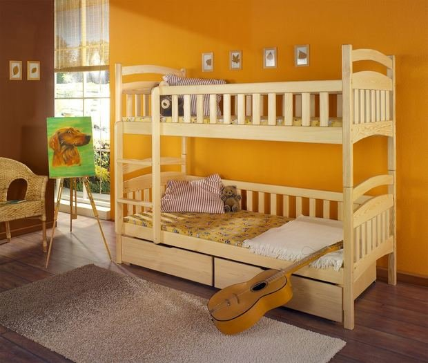 Фотография: Детская в стиле Современный, Эко, мебель в детской – фото на INMYROOM