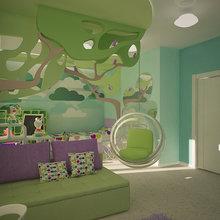 Фото из портфолио Детская для принцессы – фотографии дизайна интерьеров на InMyRoom.ru