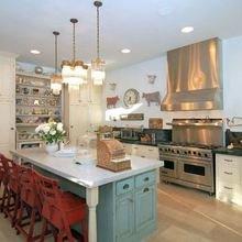 Фотография: Кухня и столовая в стиле Кантри, Классический, Современный, Хай-тек – фото на InMyRoom.ru