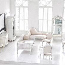 Фотография: Гостиная в стиле Классический, Скандинавский, Декор интерьера, Декор, Мебель и свет, Советы – фото на InMyRoom.ru