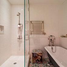 Фото из портфолио Индустриальный ЛОФТ в Нью-Йорке с видом на Гудзон  – фотографии дизайна интерьеров на InMyRoom.ru