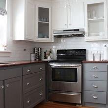 Фотография: Кухня и столовая в стиле Лофт, Мебель и свет, Советы, Ремонт на практике – фото на InMyRoom.ru