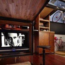 Фотография: Гостиная в стиле Эко, Лофт, Малогабаритная квартира, Квартира, Дома и квартиры – фото на InMyRoom.ru