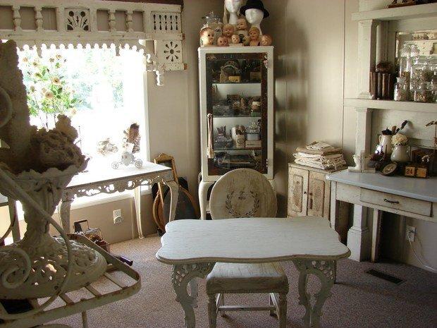 Фотография: Мебель и свет в стиле Прованс и Кантри, Дом, Дома и квартиры, Дача – фото на InMyRoom.ru