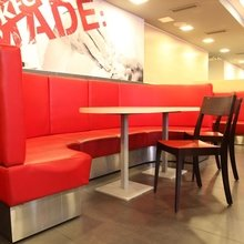 Фото из портфолио Сеть ресторанов быстрого обслуживания «KFC», редизайн – фотографии дизайна интерьеров на INMYROOM