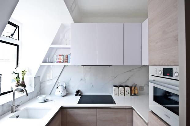 Фотография: Кухня и столовая в стиле Минимализм, Малогабаритная квартира, Советы – фото на InMyRoom.ru