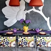 Фотография: Кухня и столовая в стиле Кантри, Квартира, Цвет в интерьере, Дома и квартиры – фото на InMyRoom.ru