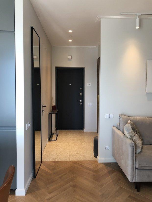 Фотография: Прихожая в стиле Современный, Квартира, Проект недели, Москва, 2 комнаты, 40-60 метров, Planidesign – фото на INMYROOM