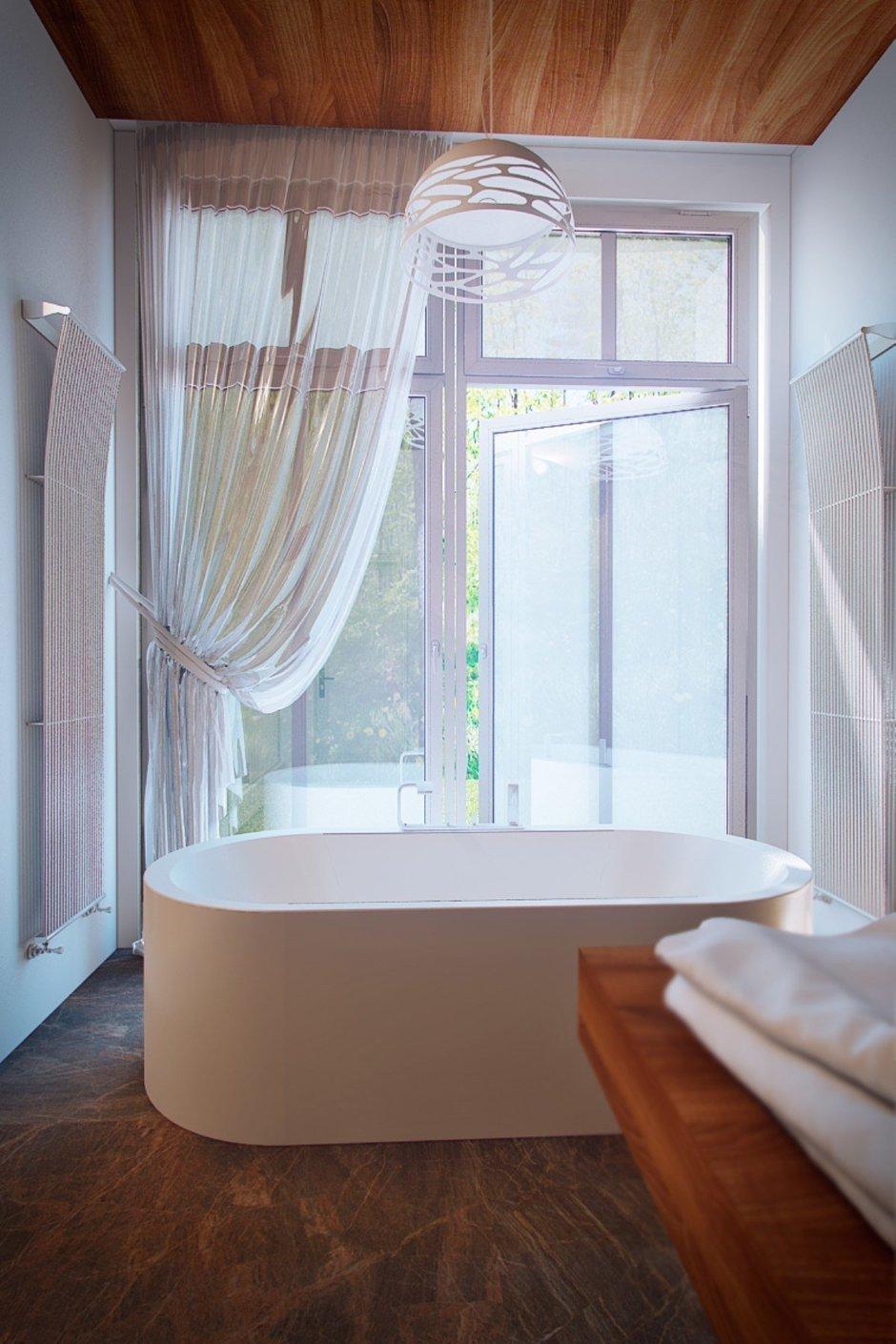 Фотография: Ванная в стиле Современный, Эко, Дом, Минимализм, Проект недели – фото на InMyRoom.ru